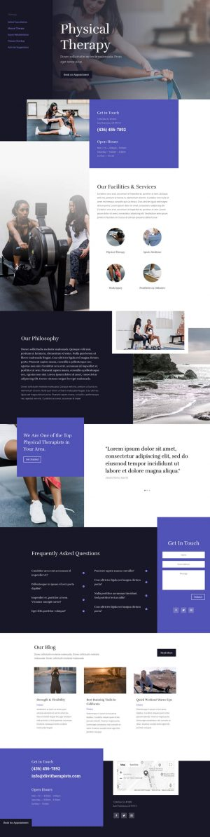 Web Design for Physical Therapy in Manchester